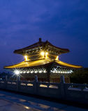 Twilight time in wat lrngneayyi Royalty Free Stock Photo