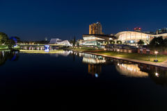 Twilight by the torrens Royalty Free Stock Images