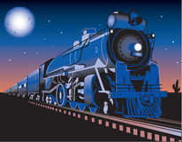 Twilight Train Royalty Free Stock Image