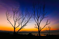 Twilight view Royalty Free Stock Images