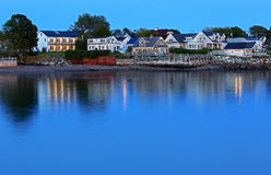 Twilight Waterfront Reflections Saint Andrews Stock Photography