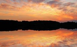 Twilight West Lake Royalty Free Stock Photography