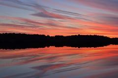 Twilight, West Lake Stock Photos