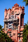 The Twilight Zone Tower of Terror at Disney's Hollywood Studios. The Twilight Zone Tower of Terror ride at Disney's Hollywood Studios royalty free stock photo