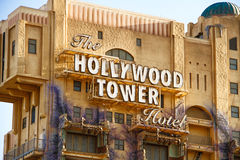 The Twilight Zone Tower of Terror Hollywood Tower Hotel Stock Image
