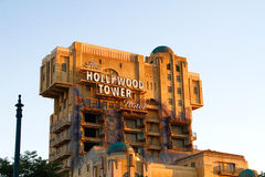 The Twilight Zone Tower of Terror Hollywood Tower Hotel Stock Photo