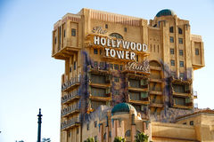 The Twilight Zone Tower of Terror Hollywood Tower Hotel i Stock Photo