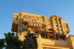The Twilight Zone Tower of Terror Hollywood Tower Hotel i Royalty Free Stock Photos