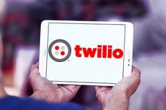 Twilio communications company. Logo of Twilio company on samsung tablet. Twilio is a cloud communications platform as a service PaaS company. Twilio allows Stock Image