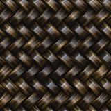 Twill καλαθιών ράστερ άνευ ραφής σχέδιο ύφανσης Στοκ Φωτογραφία