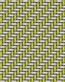 Twill Basket weave Stock Image