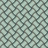 Twill weave abstract seamless pattern background. Vector illustration Stock Images