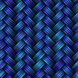 Twill Weave Texture. Seamless Multicolor Pattern. Royalty Free Stock Photo