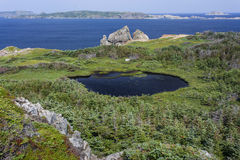 Twillingate Island view, French Beach trail Stock Photo