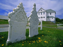 Twillingate Cemetery Royalty Free Stock Photo