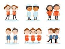 twin ilustração stock