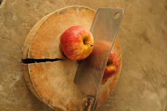 Twin apples Royalty Free Stock Photography
