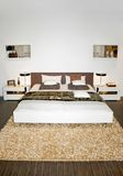 Twin bed Royalty Free Stock Images