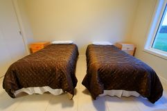 Twin beds Royalty Free Stock Photography