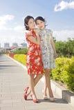 twin born girls Stock Image