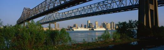 Twin Bridges Royalty Free Stock Photography