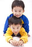 Twin brothers Royalty Free Stock Image