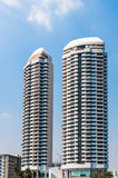 Twin building Royalty Free Stock Photo