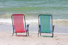 Twin Chairs Stock Image