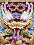 Twin chinese dragon Royalty Free Stock Photos