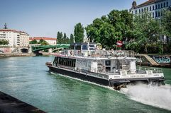 Twin City Liner Vienna royalty free stock images