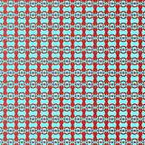 Red and Blue Repeatable Seamless Sinewave pattern. Twin Color Seamless Sinewave pattern. Abstract geometric texture with rounded shapes, repeat tiles. Design for Stock Images