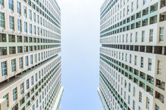 Twin Condominiums Stock Image