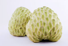 Twin custard apple Stock Image