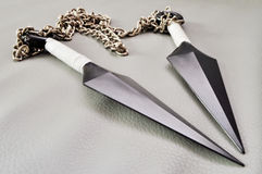 Twin Daggers Royalty Free Stock Photography