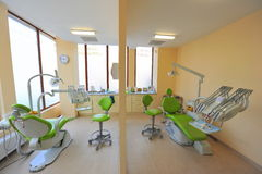 Twin dental chairs (doctors office) Stock Image