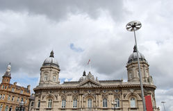 Twin Domed Victorian Civic Building Royalty Free Stock Images
