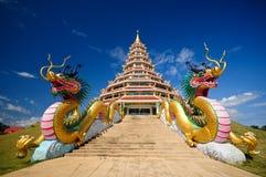Dragon pagoda stock photo