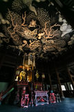 Twin Dragons painting at Kennin-ji temple in Kyoto Stock Images
