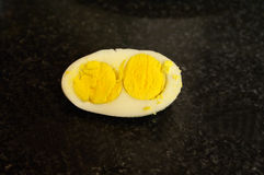 Twin Egg Yolks Stock Photography