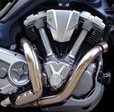 Twin Engine Stock Image