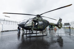 Twin-engine Eurocopter EC135 T1 (Airbus Helicopters H135) of the German Army. Royalty Free Stock Image