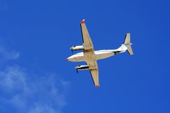 Twin-engined Light aircraft Royalty Free Stock Photos