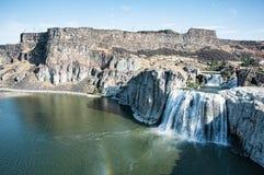 Twin Falls爱达荷 库存图片