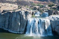 Twin Falls爱达荷 免版税库存图片