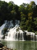 Twin Falls. At Rock Island State Park, TN Royalty Free Stock Image