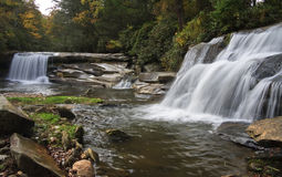 Twin Falls royalty free stock images