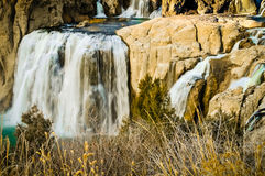 Twin Falls стоковое фото rf