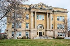 Twin Falls County domstolsbyggnad Arkivbild