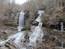 Twin Falls hiking trip. royalty free stock photos