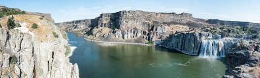 Twin Falls Idaho Royaltyfria Foton